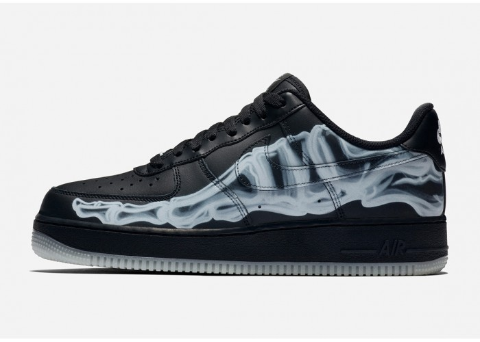 Кроссовки Nike Air Force Skeleton Black