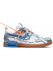 Кроссовки Nike Air Rubber Dunk Off-White UNC