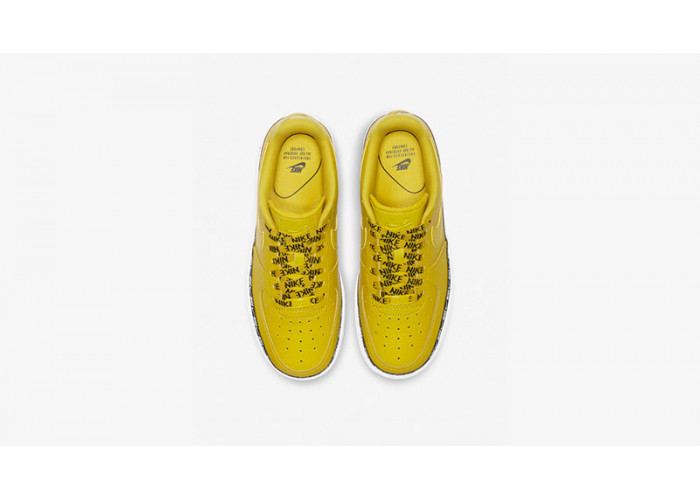 Кроссовки Nike Air Force 1 07 SE Premium Overbranded Yellow (36-40)