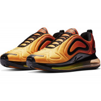 Кроссовки Nike Air Max 720 Team Orange/Black/University Gold (41-45)