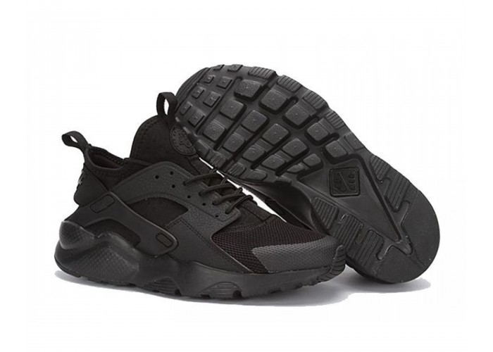Кроссовки Nike Air Huarache ultra br triple black
