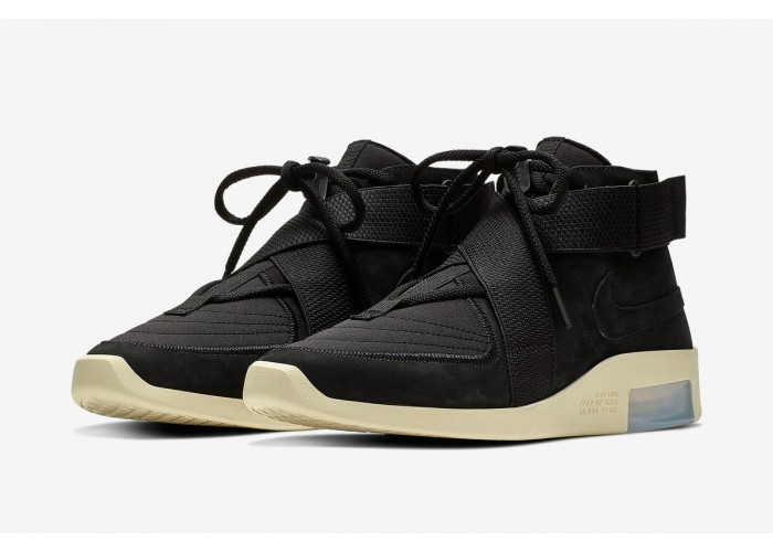 Кроссовки Nike Air Fear of God 1 «Black» (41-45)