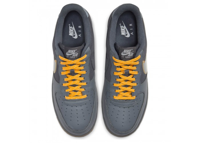 Кроссовки Nike Air Force 1 Premium Grey, Platinum & Gold END