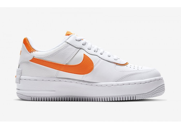 Кроссовки Nike Air Force 1 Shadow Comes With Splashes Of Total Orange (36-40)