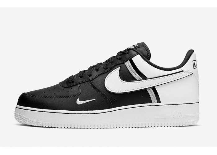 Кроссовки Nike Air Force 1 White & Black (41-45)