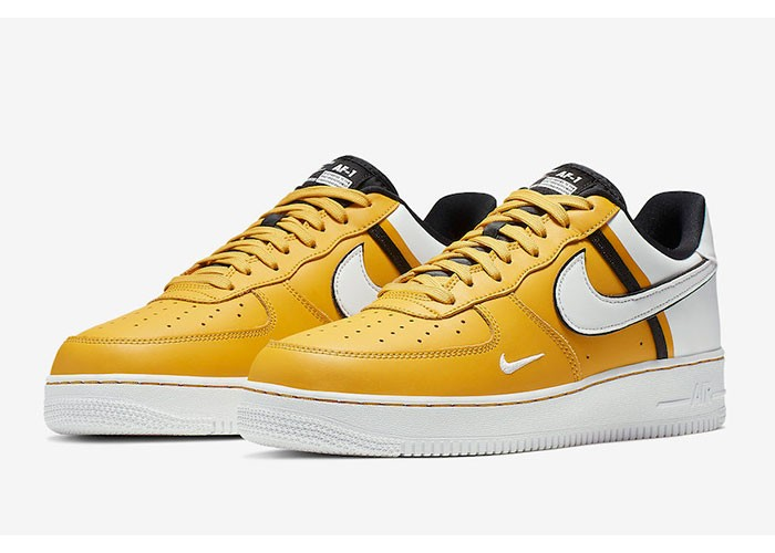 Кроссовки Nike Air Force 1 White & Yellow (41-45)