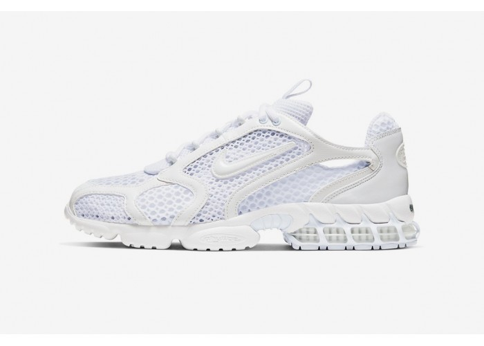 "NIKE AIR ZOOM SPIRIDON CAGE 2 ""TRIPLE WHITE"""