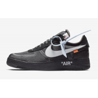 Кроссовки Nike Air Force 1 x Off White Black (41-45)
