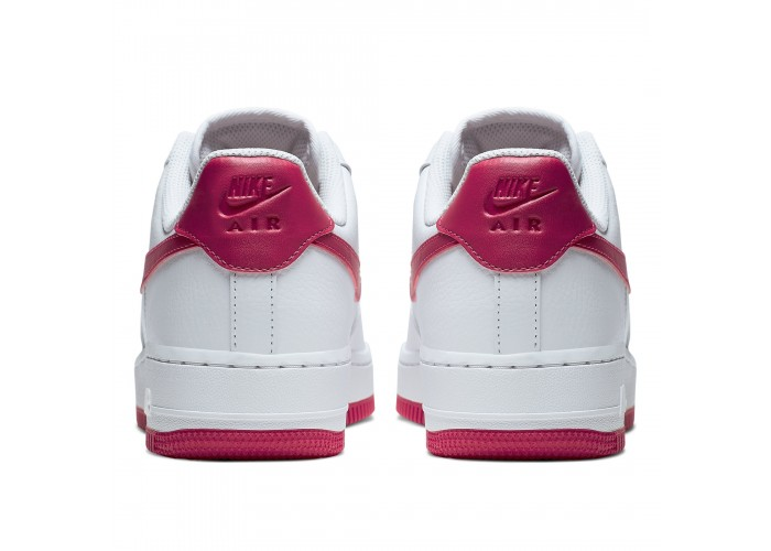 Кроссовки Nike Air Force 1 '07 White/Wild Cherry-White-Noble Red (36-40)