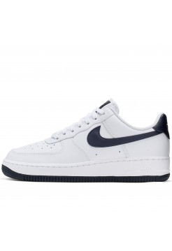 Кроссовки Nike Air Force 1 '07 White/Obsidian-White-Ocean Cube (36-40)