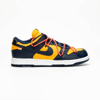 """NIKE DUNK LOW X OFF WHITE """"YELLOW/BLUE"""""""
