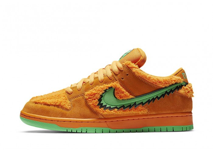 GRATEFUL DEAD X NIKE SB DUNK LOW ORANGE BEAR