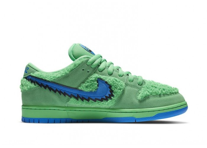 Кроссовки Grateful Dead Bears x Nike SB Dunk Low Green