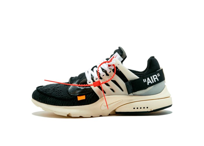 Мужские кроссовки Off White x Nike Air Presto black