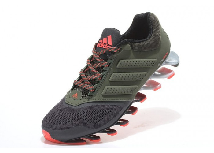 Adidas Springblade Drive 2.0 (Military Green/ Orange) (007)
