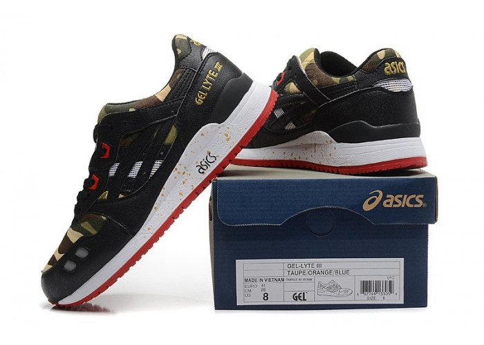 Asics Gel Lyte 3 Men (Camo/Black) (003)