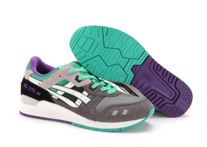 Asics Gel Lyte 3 (Grey-White) (005)