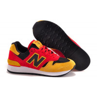 New Balance 670 (Red/Yellow/Black) (002)