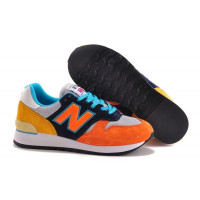 New Balance 670 (Orange/Yellow/Blue) (003)