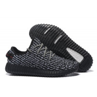 Adidas Yeezy 350 Boost By Kanye West Жен (Black) (007)
