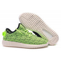 Adidas Yeezy 350 Boost By Kanye West Жен (Lime Green) (005)