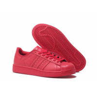 "Adidas Superstar ""Supercolor"" Жен (Red) (004)"