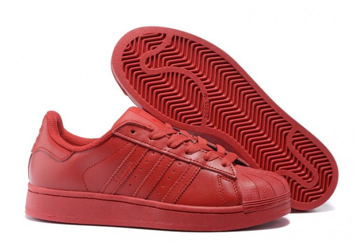 """Adidas Superstar """"Supercolor"""" (Oll Red) (005)"""