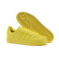 "Adidas Superstar ""Supercolor"" Женs (Lab yellow) (007)"