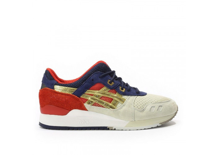 "Asics Gel Lyte 3 ""BTP"" (/Dark Blue/Red/Gold) (010)"