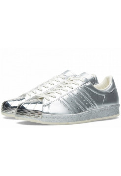 Adidas Superstar 80s metal toe (Silver) (018)