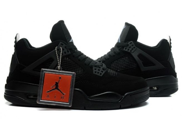 "Nike Air Jordan 4 Retro ""Black Cat"" (016)"