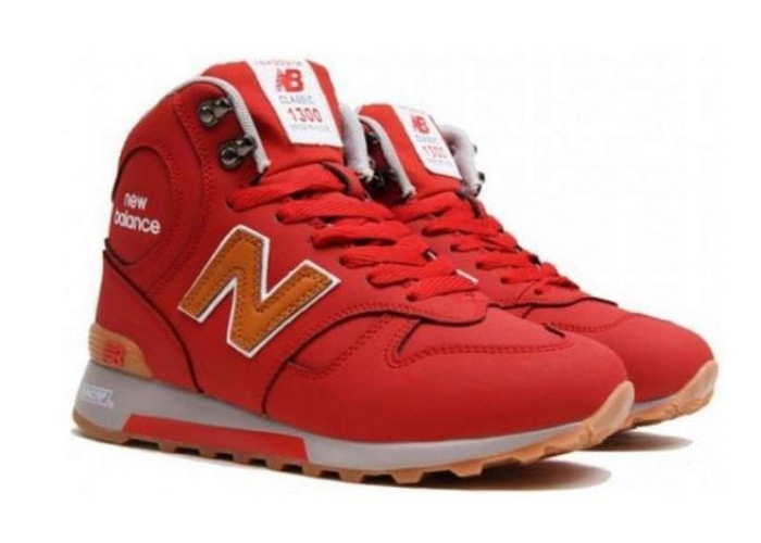 New Balance 1300 High With Fur (Red) (042)
