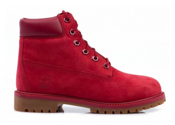 Timberland 6 Inch Boots (Red) (019)