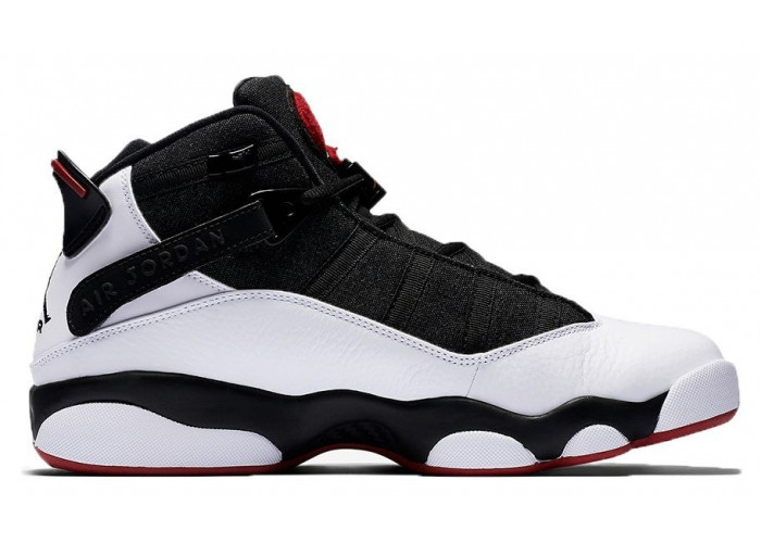 Air Jordan 6 Rings (White/Black/Red) (098)