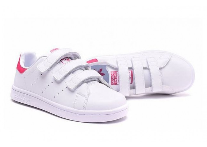 Adidas Stan Smith CF (White/Pink) (019)