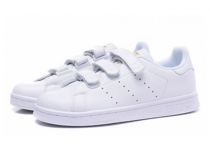 Adidas Stan Smith CF (White/Gold) (020)