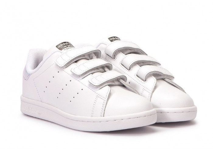 Adidas Stan Smith CF (Metallic Silver/White) (021)