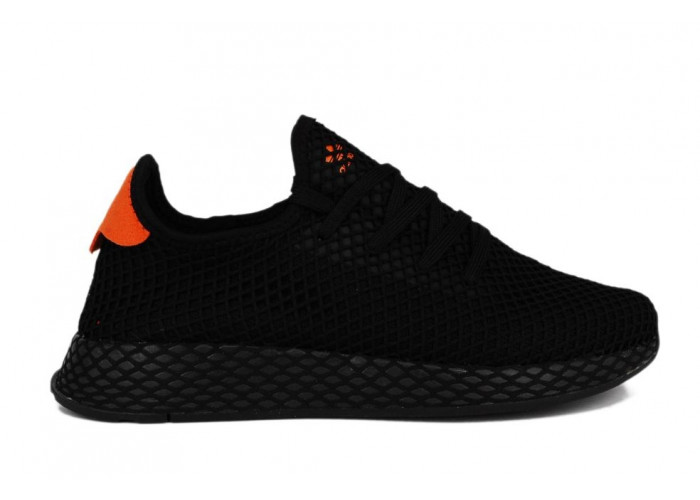 Adidas Deerupt Runner (Black/Orange) (002)