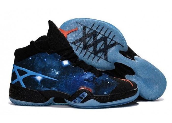 Air Jordan XXX (Cosmo Galaxy/Purple Blue/Black) (001)