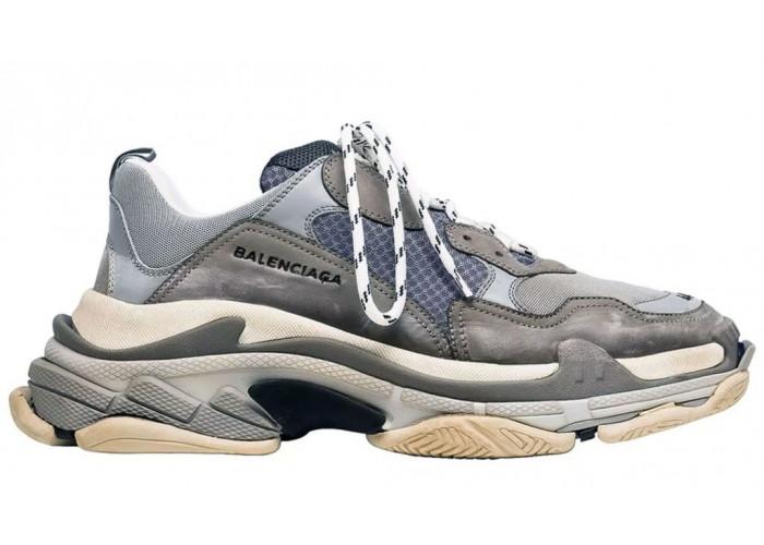 Balenciaga Triple S (Grey) (012)