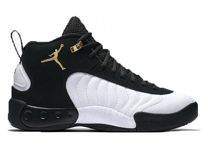"Jordan Jumpman Pro ""Taxi"" (Black/White/Gold) (005)"
