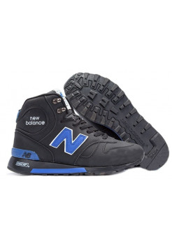 New Balance 1300 High With Fur (Black/Blue) (041)