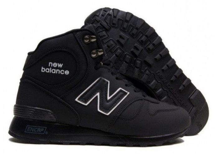 New Balance 1300 With Fur (Black/White) (068)