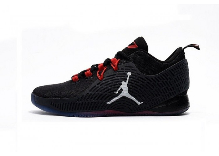 Nike Air Jordan CP3.X 10 BlackRed (006)