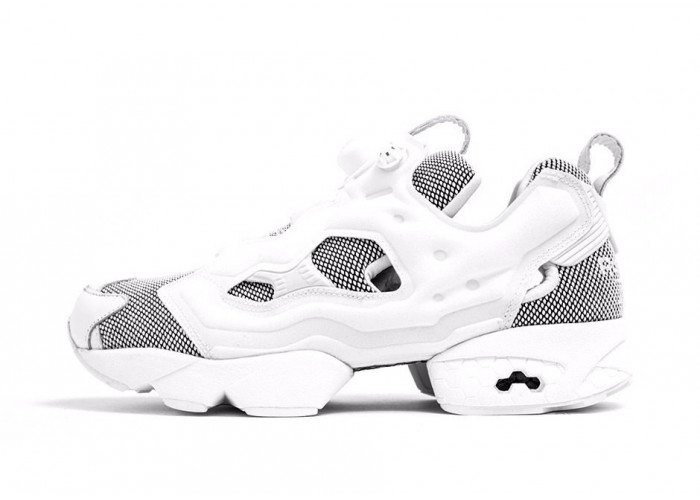 "Reebok Insta Pump Fury Tech ""Steel"" White (013)"