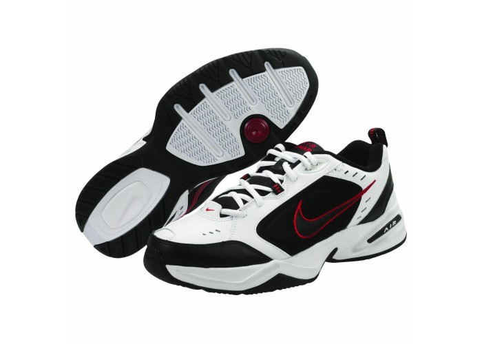 Кроссовки Nike Air Monarch IV White Black (41-45)