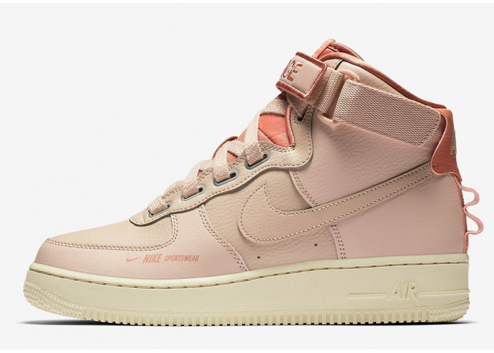 Кроссовки Nike Air Force 1 High Beige (36-40)