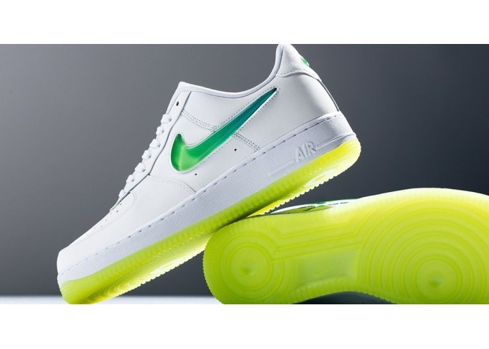 "Кроссовки Nike Air Force 1 Low ""Volt"" Jewel Swoosh (36-40)"