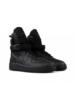 Кроссовки унисекс Nike SF AF1 Special Forces Field Air Force One 1 TRIPLE BLACK (41-45)
