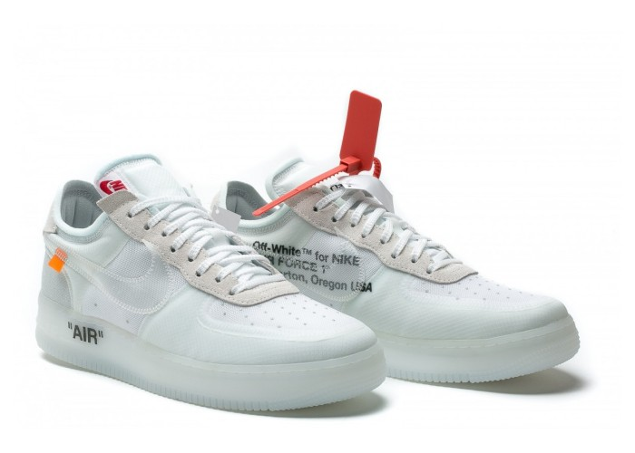 "Кроссовки THE 10: NIKE AIR FORCE 1 LOW ""OFF WHITE"" (41-45)"